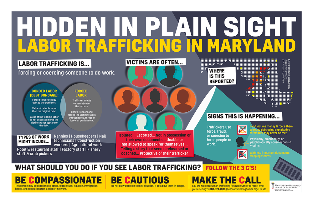 Labor Trafficking Infographic
